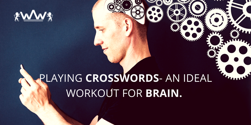 Playing Crosswords- An Ideal Workout for Brain